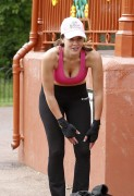 Imogen Thomas training in North West London, 16 June, x41