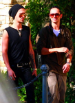 Bill y Tom en Los Angeles, USA (16.07.11)   6dc8e9141089967