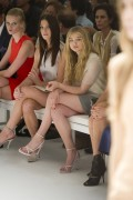 7ba3f5149728614 Ashley Greene and Chloe Moretz @ Calvin Klein Spring 2012 fashion show, Sept 15 high resolution candids