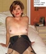 naked Christine baranski