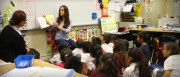 Sasha Grey reads at Compton's Emerson Elementary School for Read Across America Day, 2 November, x7