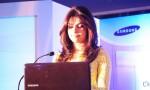 Приянка Чопра, фото 305. Priyanka Chopra at Samsung Pressmeet, 2012-01-31, foto 305