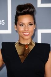 Алиша Киз (Алисия Кис), фото 3031. Alicia Keys 54th annual Grammy Awards - 12/02/2012 - Red Carpet, foto 3031