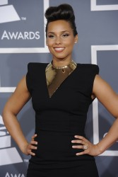 Алиша Киз (Алисия Кис), фото 3094. Alicia Keys 54th annual Grammy Awards - 12/02/2012 - Red Carpet, foto 3094