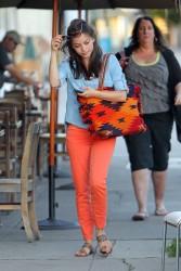 Кристин Кройк, фото 1211. Kristin Kreuk leaving the Kings Road Cafe in West Hollywood, february 16, foto 1211