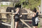 Эшли Бенсон, фото 401. Ashley Benson at Busch Gardens in Tampa Bay 03/03/12*with Vanessa Hudgens, foto 401,