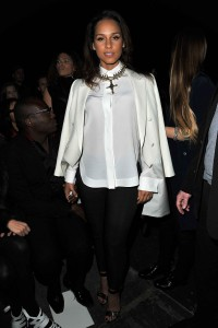 Алиша Киз (Алисия Кис), фото 3104. Alicia Keys Paris Fashion Week, 04.03.2012, foto 3104