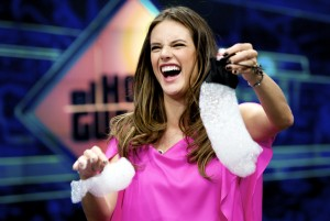 Алессандра Амброзио, фото 8203. Alessandra Ambrosio On 'El Hormiguero' TV Show in Madrid, 05.03.2012, foto 8203