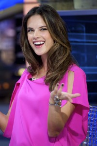Алессандра Амброзио, фото 8189. Alessandra Ambrosio On 'El Hormiguero' TV Show in Madrid, 05.03.2012, foto 8189