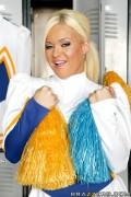 Криста Мур, фото 764. Crista Moore Cheerleader Distraction Set ( Mq & Tagg ), foto 764