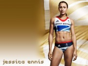 Jessica Ennis : Sexy Wallpapers x 2