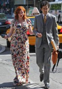 Christina Hendricks - out and about in New York 05/12/12