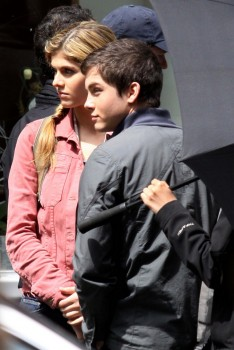 Alexandra Daddario - On Set of 'Percy Jackson & The Olympians: The Sea of Monsters' | May 28, 2012 | 13x MQ