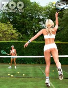 Дейзи Ваттс, фото 124. Daisy Watts & Amy Green - Sexy Wimbledon July 2012 LQ Tags, foto 124