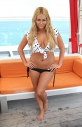 Aubrey O'Day - wearing a bikini at a Miami pool 07/10/12